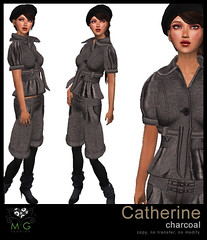 [MG fashion] Catherine (charcoal)