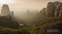 Meteora - Yannis Larios Photography (Yannis Larios (larios.gr)) Tags: sunset sun history church religious heaven christ god religion hellas monk icon nun medieval holy greece monastery priest christianity spirituality spiritual hymn visualart meteora holybible monasteries othodox slience kalampaka kalabaka varlaam thessaly roussanou centralgreece thessalia megalometeoro aghiatriada aghiosstefanos yannislarios