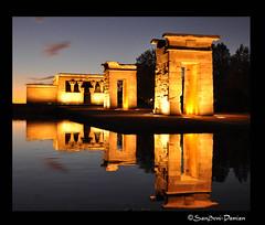 UN TEMPLO PARA MADRID (DaminN) Tags: madrid espaa noche nikon capital museo egipto historia d90