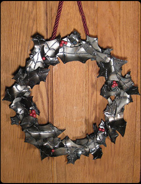 A-Wreath-a Metal Wall Art