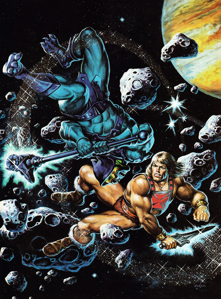 Masters Of The Universe - 19 (painting by Earl Norem)