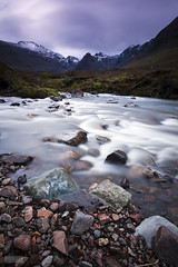 Glenbrittle, Scotland (Jokull) Tags: mountains skye clouds river landscape flow scotland highlands rocks glenbrittle cokin 2011 canoneos5d lightstalking plljkull