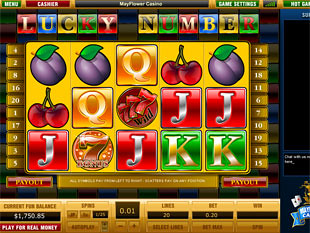 Lucky Number slot game online review
