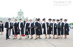 Graduated (Puykamo@Tai) Tags: portrait people cute smile face happy model university pretty thai graduations graduated educations successfull puykamo