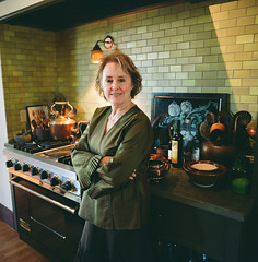 alice waters (courtneyutt) Tags: photoshoot mamiya6 chezpanisse npz800 alicewaters spacequeen apartamentomagazine inherkitchen marcovelardi