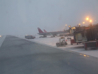 Snow in MN Airport