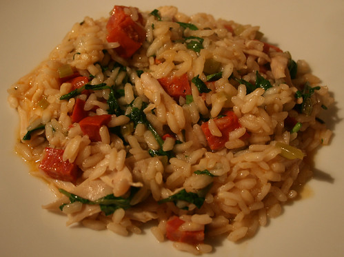 Chicken Chorizo and Watercress Risotto 2