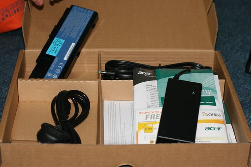 Acer Aspire  5520  Accesories