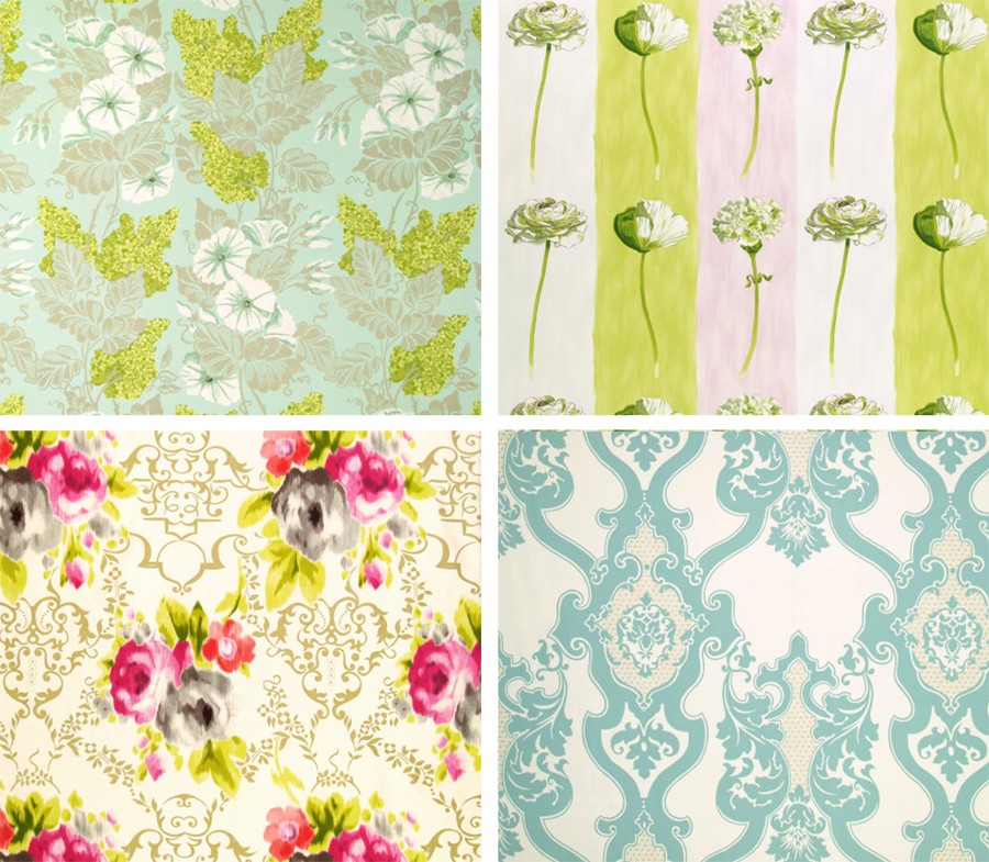 Designers Guild *New* Fabrics + Wallpapers