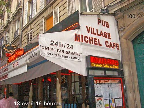 Café Michel 100 rue Ordener