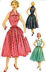 M9407 Gallery (sandritocat) Tags: vintage pattern sewing 1950s summerdress rme size14 50sera bust32 fittedmidriff fullskirtdress mccalls9407