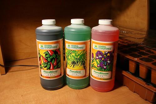 General Hydroponics Nutrients