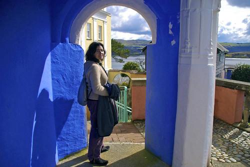 El aroma mediterráneo de Portmeirion. Por Gales (7)