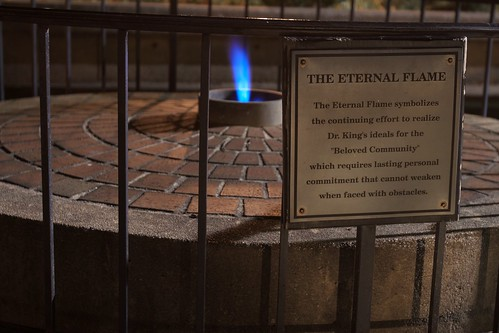 Eternal Flame, Martin Luther King Memorial