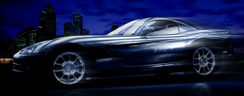 Dodge Viper STR 10 ( BLUE )