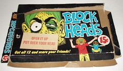 Topps Blockheads display box