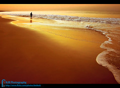 s o l i t u d e (bnilesh) Tags: ocean light orange india holiday seascape beach beautiful sunrise landscape golden sand soe somnath abigfave impressedbeauty theperfectphotographer bestofmywinners spiritualtothesenses