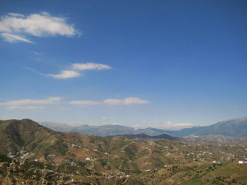 Cortijo La Calera en la Sierra de Tejeda