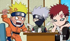 NarUto cHibiZ!!! (anime27fan [gone...]) Tags: anime cute chibi manga angry naruto kakashi debate gaara kazekage anime27fan
