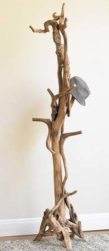 Place of antique hats, Wood handicraft, antique handicraft