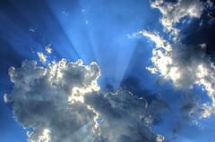 Farts Of Love & Cheer (cavale) Tags: blue sky sun 3 clouds geotagged orlando florida rays portfolio awe hdr catchycolorsblue geo:lat=28578492 geo:lon=81210551 orlandoset cavalephotonet