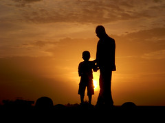 father & son (f i  a s) Tags: sunset male silhouette dead island gold evening asia walk background father capital crab dry son nelson terror terrorism maldives pathetic apathy mandela apartheid dhivehi saarc fathernson raajje uniquemaldives firax