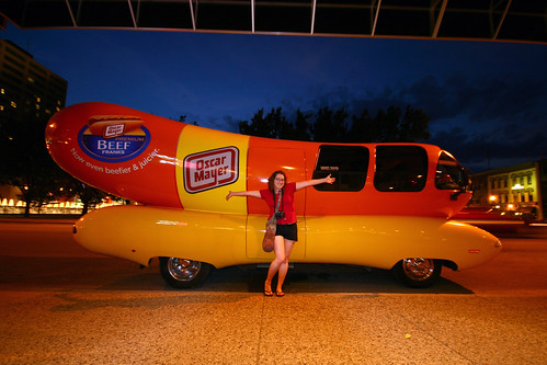 me and the weinermobile