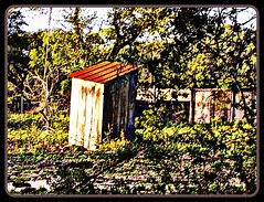 """~""""Old Outhouse""""~ (vivsirena ( *On & Off* )) Tags: ruins decay fabulous hdr fineartphotos oldouthouse thesuperbmasterpiece hdraward awardtree"""
