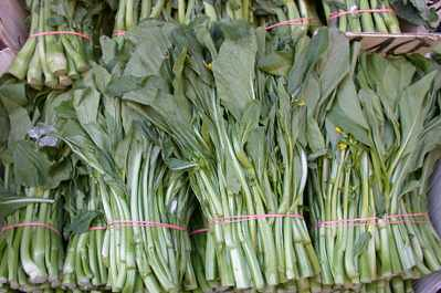 Chinese Greens (Yu Choy) Stir Fry Recipe Bulk