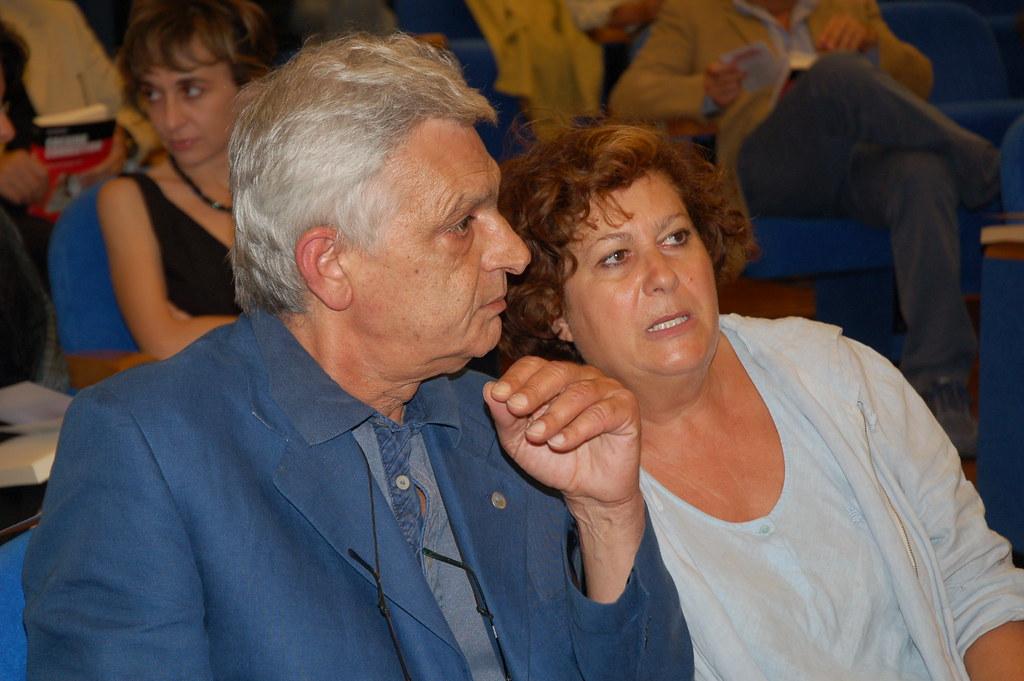Orfeo Notaristefano e Luisa Laurelli