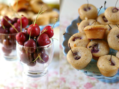 cherry tea cake