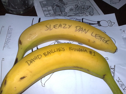 Caption 2008 - David Baillie and Dan Lester Prize Bananas