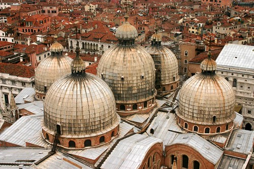 Figure 3Domes of San Marco, Venice, Italy. http://www.flickr.com/photos/clixyou/374871950/