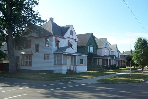 Michigan Road residences