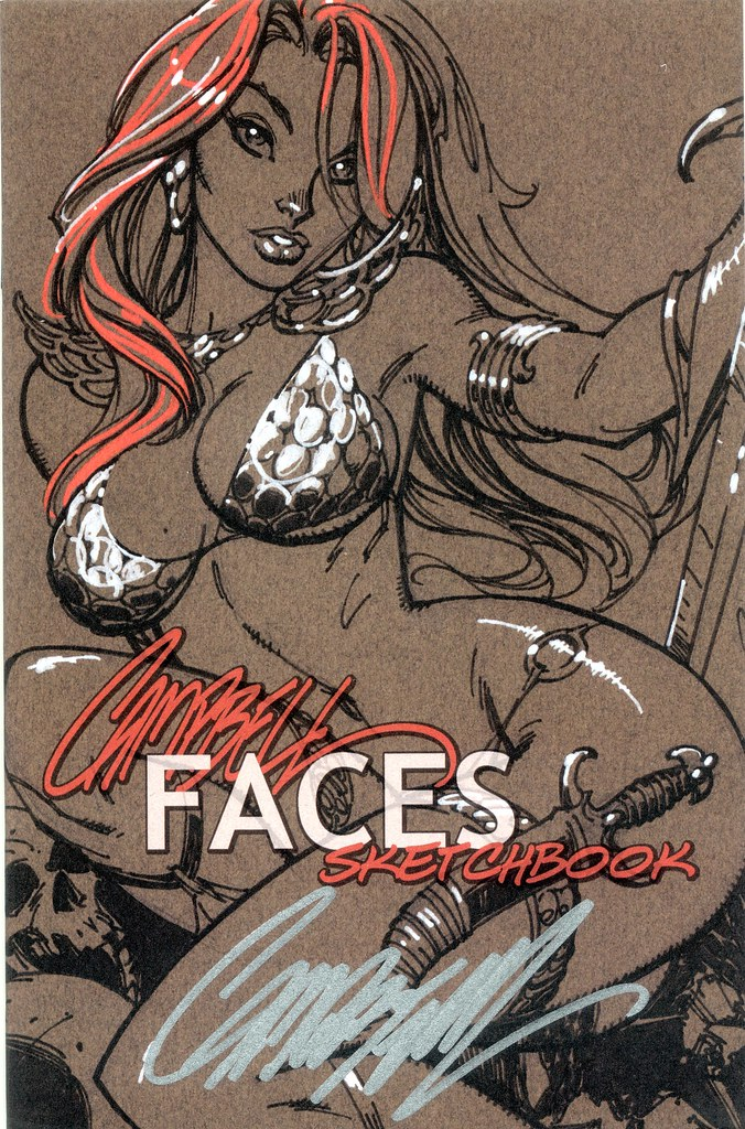 J Scott Campbell Sketchbook, 2008