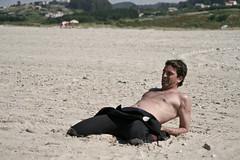 Emiliano Tabaré. Calentamiento para Surfistas. (SURF&ROCK (Miguel Navaza)) Tags: beach surf surfer wave playa surfing galicia curso bodyboard surfandrock escuelasurf