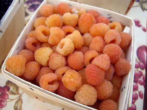 Golden Raspberries from Rhoads Farm
