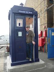 Police Box, Chatham Historic Dockyard (Richard and Gill) Tags: kent chatham richard doctorwho drwho tardis policebox telephonebox chathamhistoricdockyard policepubliccallbox policetelephonebox kentpolicemuseum