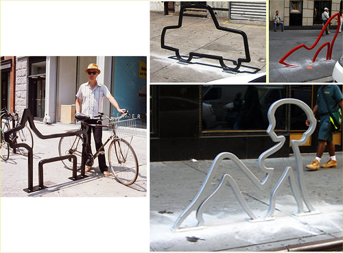 David Byrne bike racks