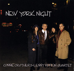 Connie Crothers - Lenny Popkin Quartet | New York Night ; cover
