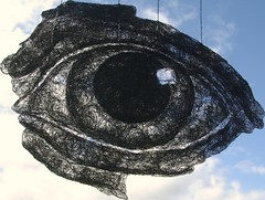 Wire eye Sophie Ryder (Spike Fisher) Tags: sculpture eye paul wire eyeball fisher spike ysp yorkshiresculpturepark halliday wiresculpture sophieryder spikefisher paulhalliday wwwpbhallidaycouk wwwpaulhalliadaysculpturecom wwwgardensculpurecouk