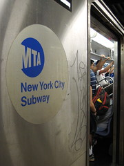 New York Subway - Saturday morning