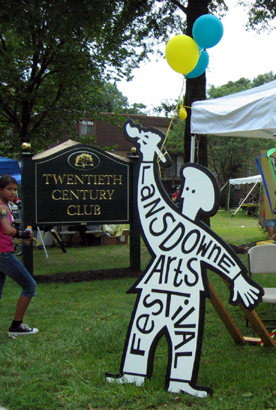 Lansdowne Arts Fest (Click to enlarge)