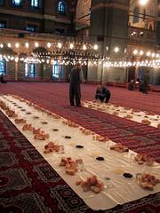 Iftar, Istanbul, Turkey