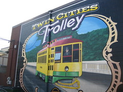 Twin Cities Trolley by Adam May