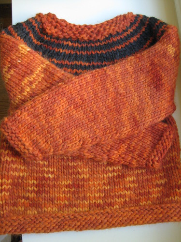 bulky yoke pullover