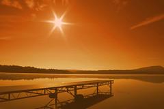 Sunrise at Arrowhead Lake, Pocono Pines, PA (DP|Photography) Tags: sunrise bravo pennsylvania poconos beautifulsky arrowheadlake poconopines goldstaraward debashispradhan dpphotography dp|photography