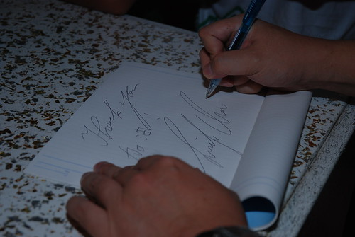 朱學恒簽名