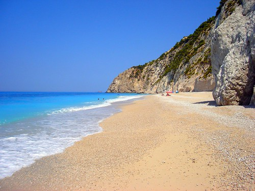 I have been to many beaches in Greece, but this was the best.