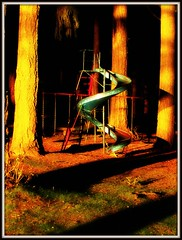 Haunted Slide (Mark Faviell Photos) Tags: lake vancouver bc photos slide marks fave fabulous orton chilliwack cultus